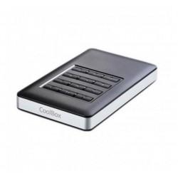"CoolBox SecurChase 253 Carcasa Cifrada HDD/SSD 2.5"" USB 3.0"