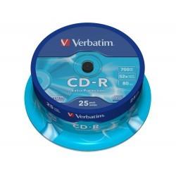 Verbatim Datalife CD-R 52x Bobina 25 Unds