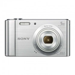 Sony Ciber-shot DSC-W800 20MP Plata