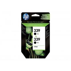 Pack Ahorro HP Nº339 Negro x2