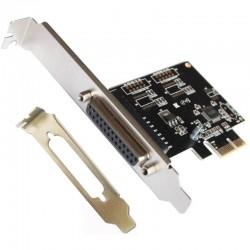 L-Link Tarjeta PCI Express Paralelo + Adaptador Perfil Bajo