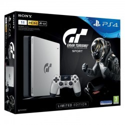 Sony PS4 PlayStation 4 Slim 1TB Edición Limitada + GT Sport