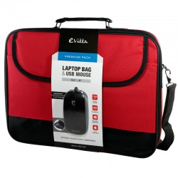 """E-Vitta Premium Pack 16"""" Rojo"""
