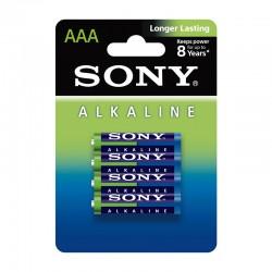 Sony AM4L-B4D Alkaline Blue AAA x4